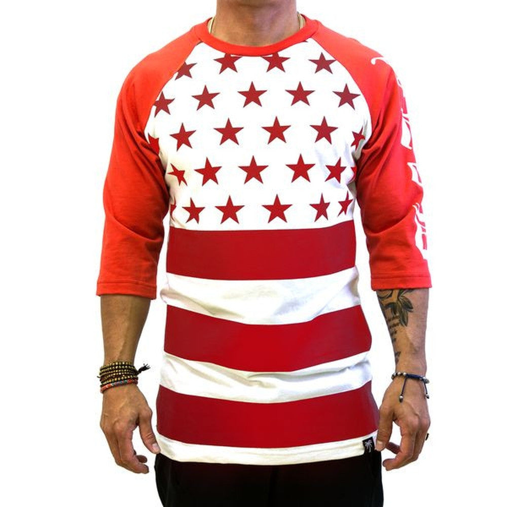 Patriot Raglan - BLVD Supply inc