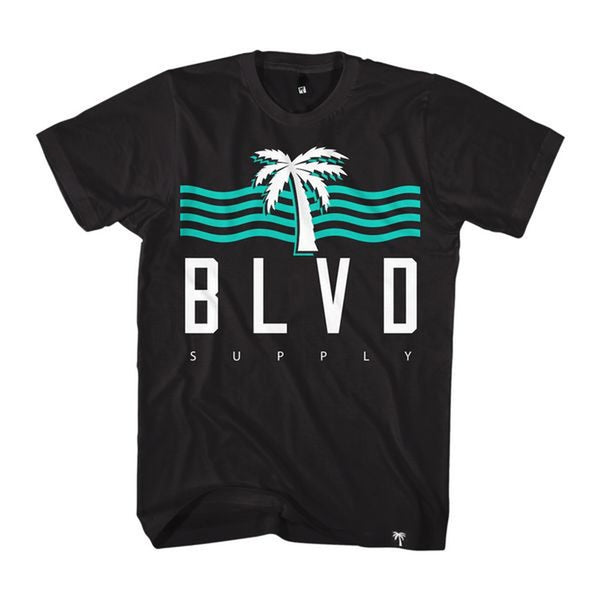 Blvd Supply High Tide Tee - BLVD Supply inc