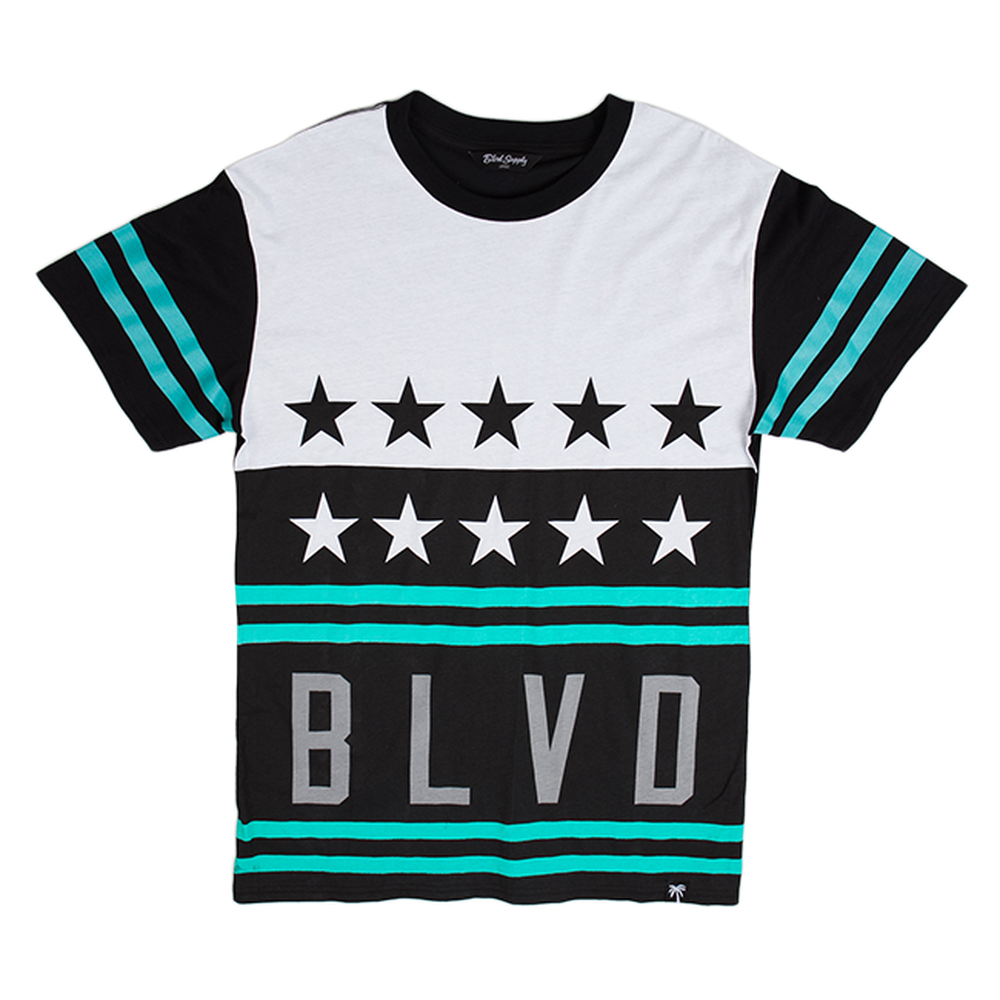 Blvd Supply Stars and Stripes Tee