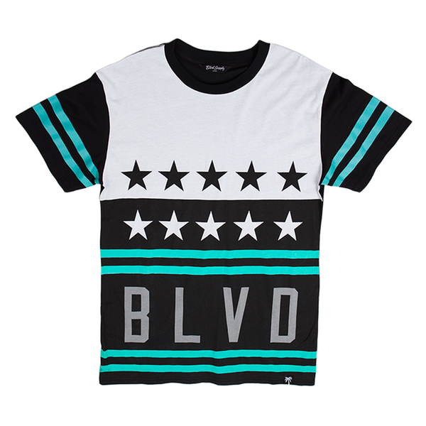 Stars and Stripes Tee - BLVD Supply inc