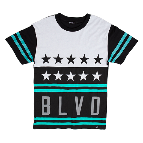 Blvd Supply Stars and Stripes Tee - BLVD Supply inc