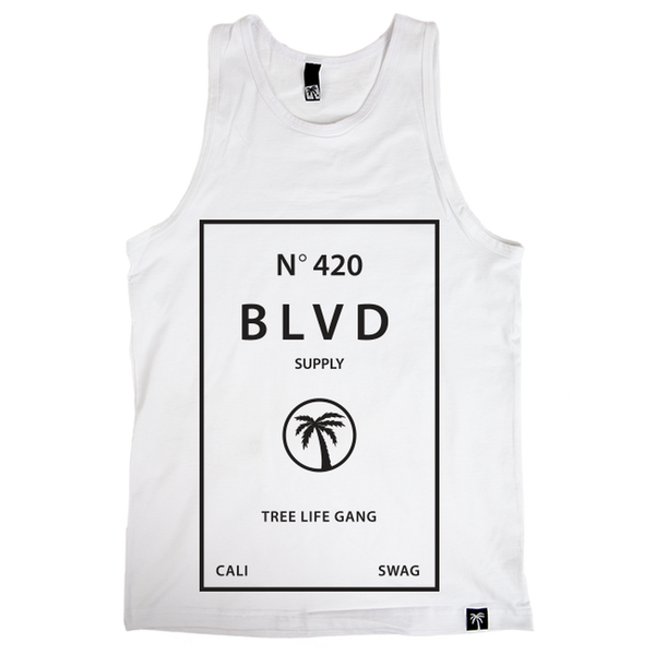 Blvd Supply Cologne Tank - BLVD Supply inc