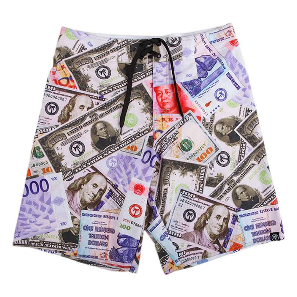 Currency Boardshort - BLVD Supply inc