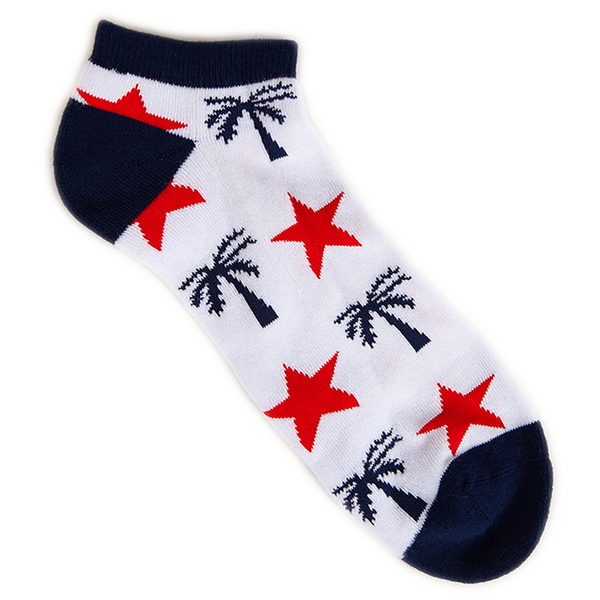 Independence No Show Socks - BLVD Supply inc
