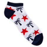 Blvd Supply Independence No Show Socks - BLVD Supply inc