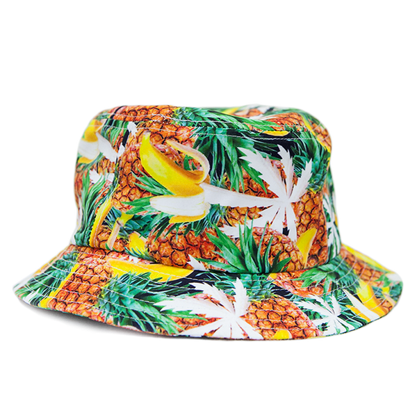 Blvd Supply Banana Pineapple Bucket Hat - BLVD Supply inc