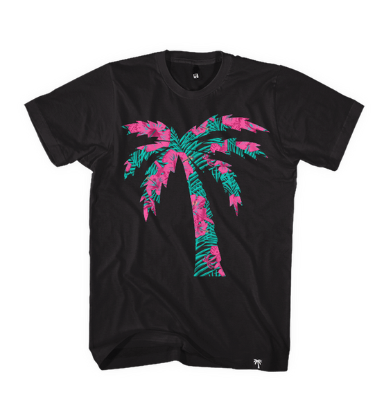 Palm Logo South Beach Tee - BLVD Supply inc