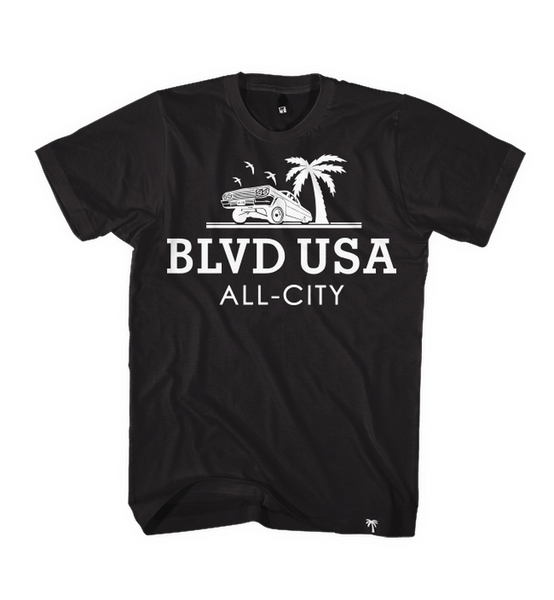 Blvd Supply Cruiserweight Tee - BLVD Supply inc