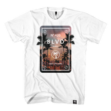 Blvd Supply LA Sunset Trees Tee - BLVD Supply inc