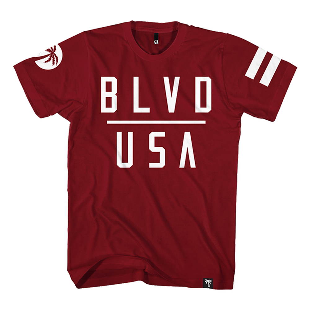BLVD USA Tee - BLVD Supply inc