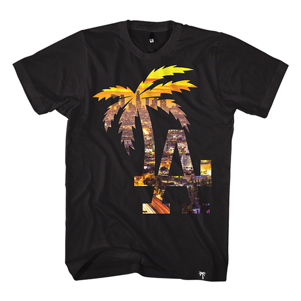 LA Palm City Tee - BLVD Supply inc
