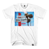 Blvd Supply Palm Sign Tee - BLVD Supply inc