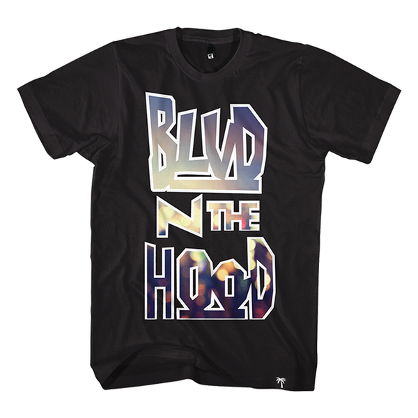 BLVD In The Hood Tee - BLVD Supply inc