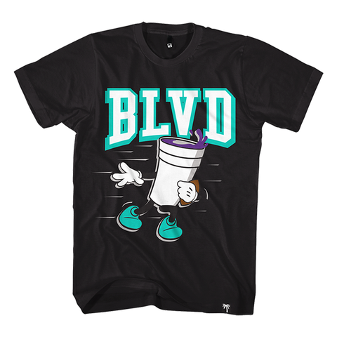 Blvd Supply Trophy Stance Tee - BLVD Supply inc