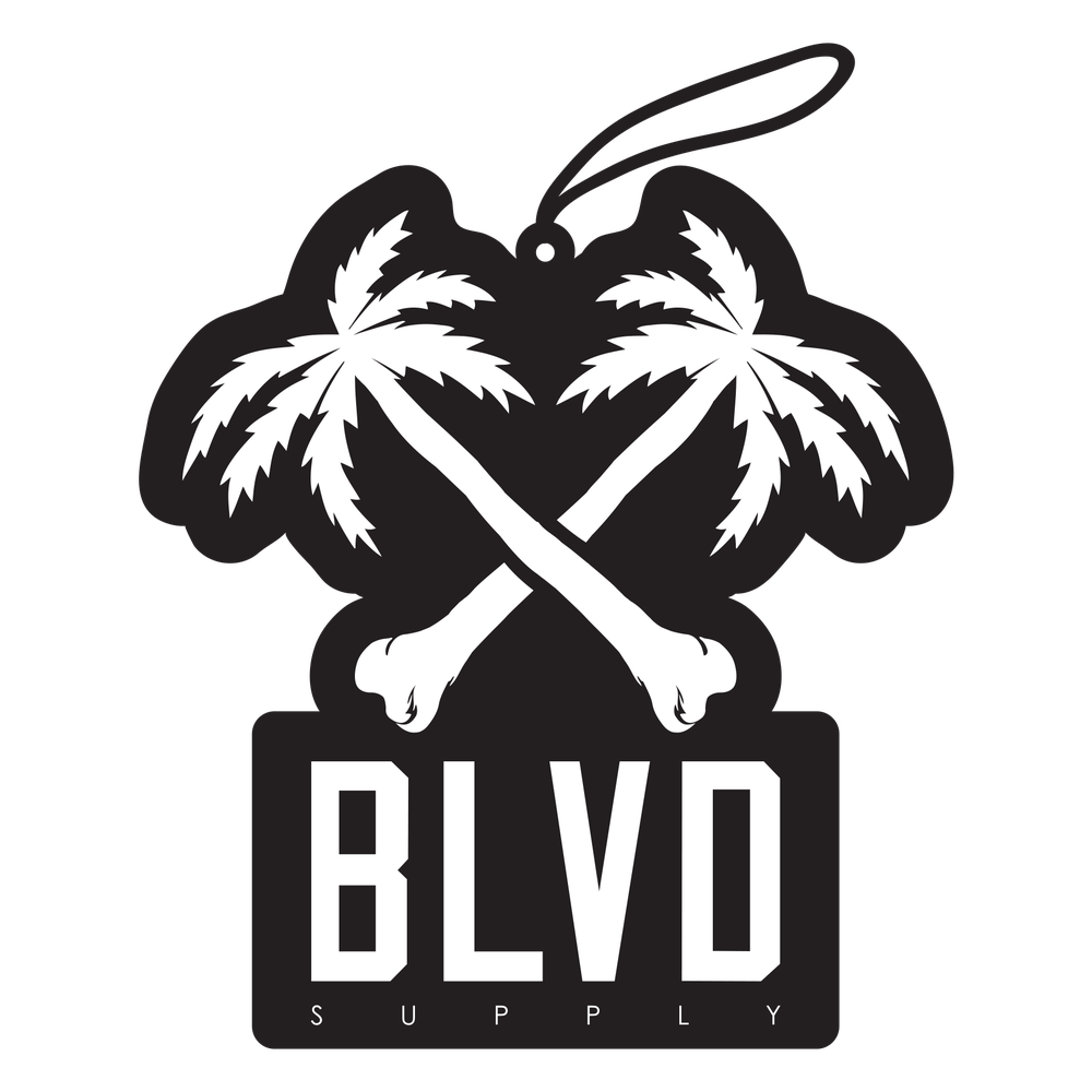 Crossbones BLVD Car Freshener - BLVD Supply inc