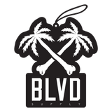 Blvd Supply Crossbones BLVD Car Freshener - BLVD Supply inc