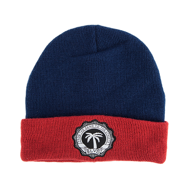 Crest Cuffed Beanie - BLVD Supply inc