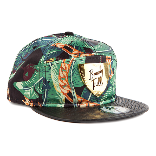 Trill Shield Snapback - BLVD Supply inc