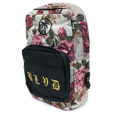 Floral Lux Backpack - BLVD Supply inc