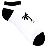 Blvd Supply LA Palm No Show Socks - BLVD Supply inc