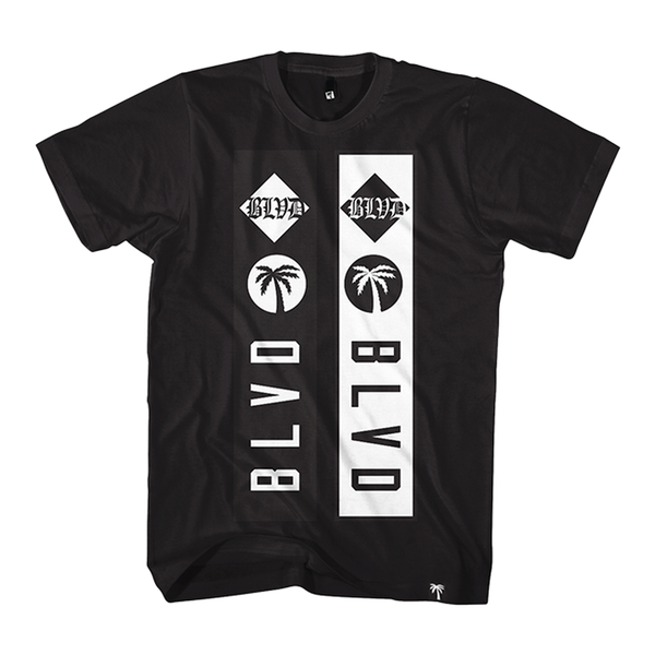 Blvd Supply Blocked Up Tee - BLVD Supply inc