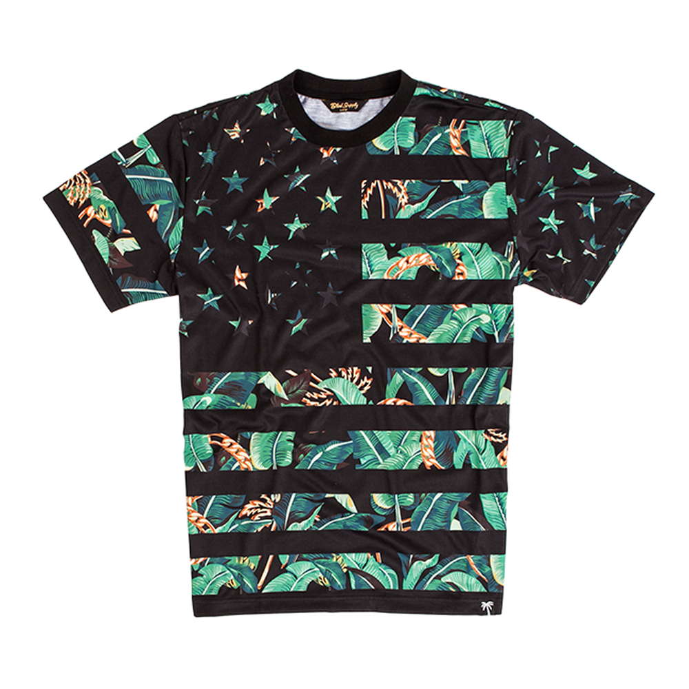 Trap Flag B. Trills Tee - BLVD Supply inc