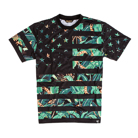 Blvd Supply Trap Flag B. Trills Tee - BLVD Supply inc