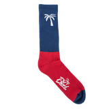 Blvd Supply Palm Block Socks - BLVD Supply inc