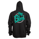 Stadium Zip Up Hoodie - BLVD Supply inc