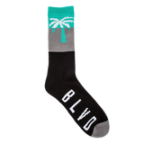 Blvd Supply Thick Stripe Socks - BLVD Supply inc