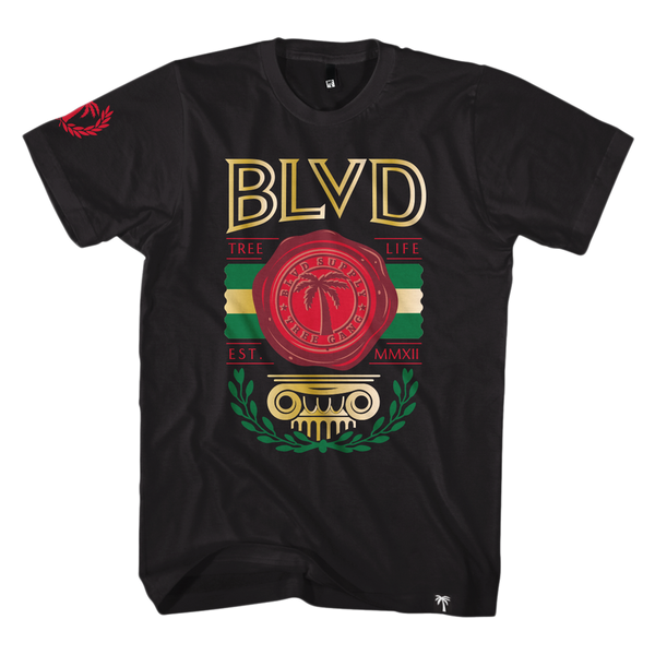 Blvd Supply Red Seal Tee - BLVD Supply inc