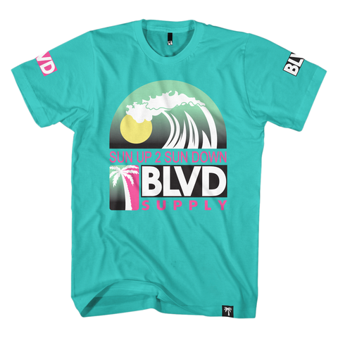 Blvd Supply Bball Wave Shirt - BLVD Supply inc