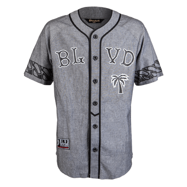 Dugout Knit Baseball Jersey - BLVD Supply inc