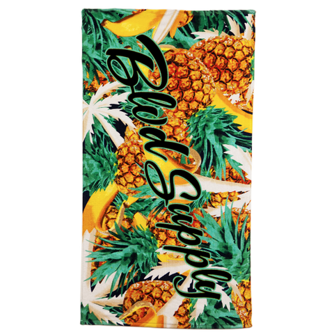 Blvd Supply Banana Pineapple Towel - BLVD Supply inc