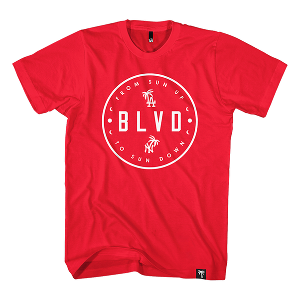 Sun Up Circle Tee - BLVD Supply inc
