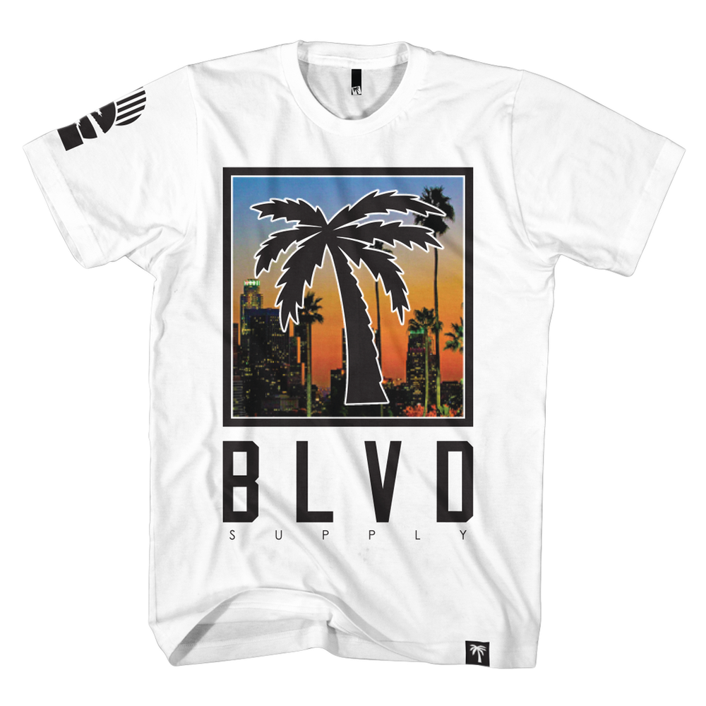 Blvd Supply C-Thru Downtown Tee - BLVD Supply inc
