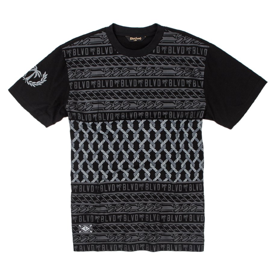 Blvd Supply Rope Stripe Tee