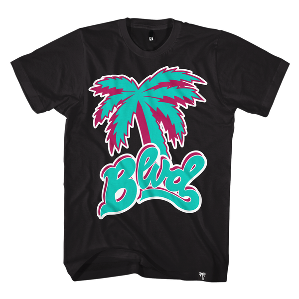 Blvd Supply Scriptic Tee - BLVD Supply inc
