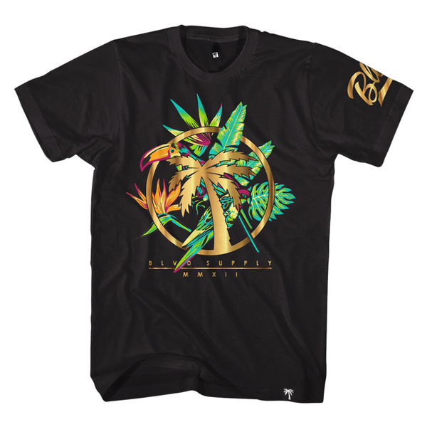 Paradise Circle Tee - BLVD Supply inc