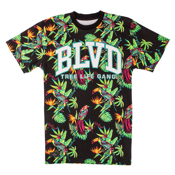 Paradise BLVD Tee - BLVD Supply inc
