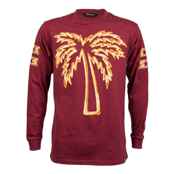 Beverly Trees Long Sleeve Tee - BLVD Supply inc