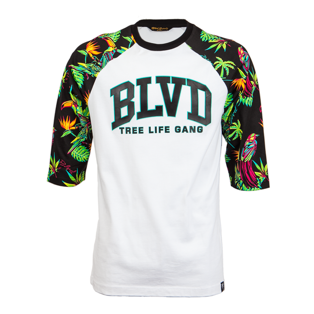 Paradise Arc Raglan - BLVD Supply inc