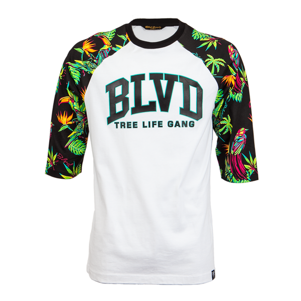 Blvd Supply Paradise Arc Raglan - BLVD Supply inc