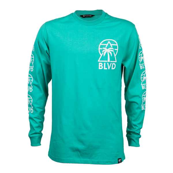Delta Long Sleeve Tee - BLVD Supply inc