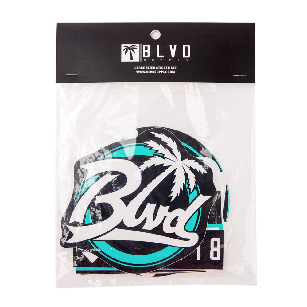 BLVD Sticker - BLVD Supply inc