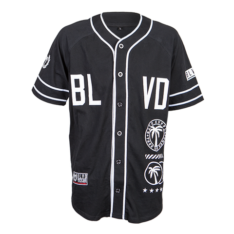 Fielder Knit Baseball Jersey - BLVD Supply inc