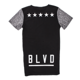 Blvd Supply Henley Cement Tee - BLVD Supply inc