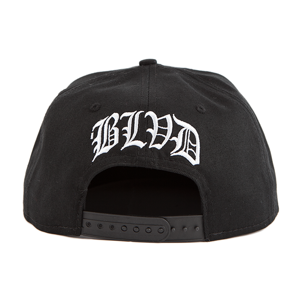 Crossbones Snapback - BLVD Supply inc