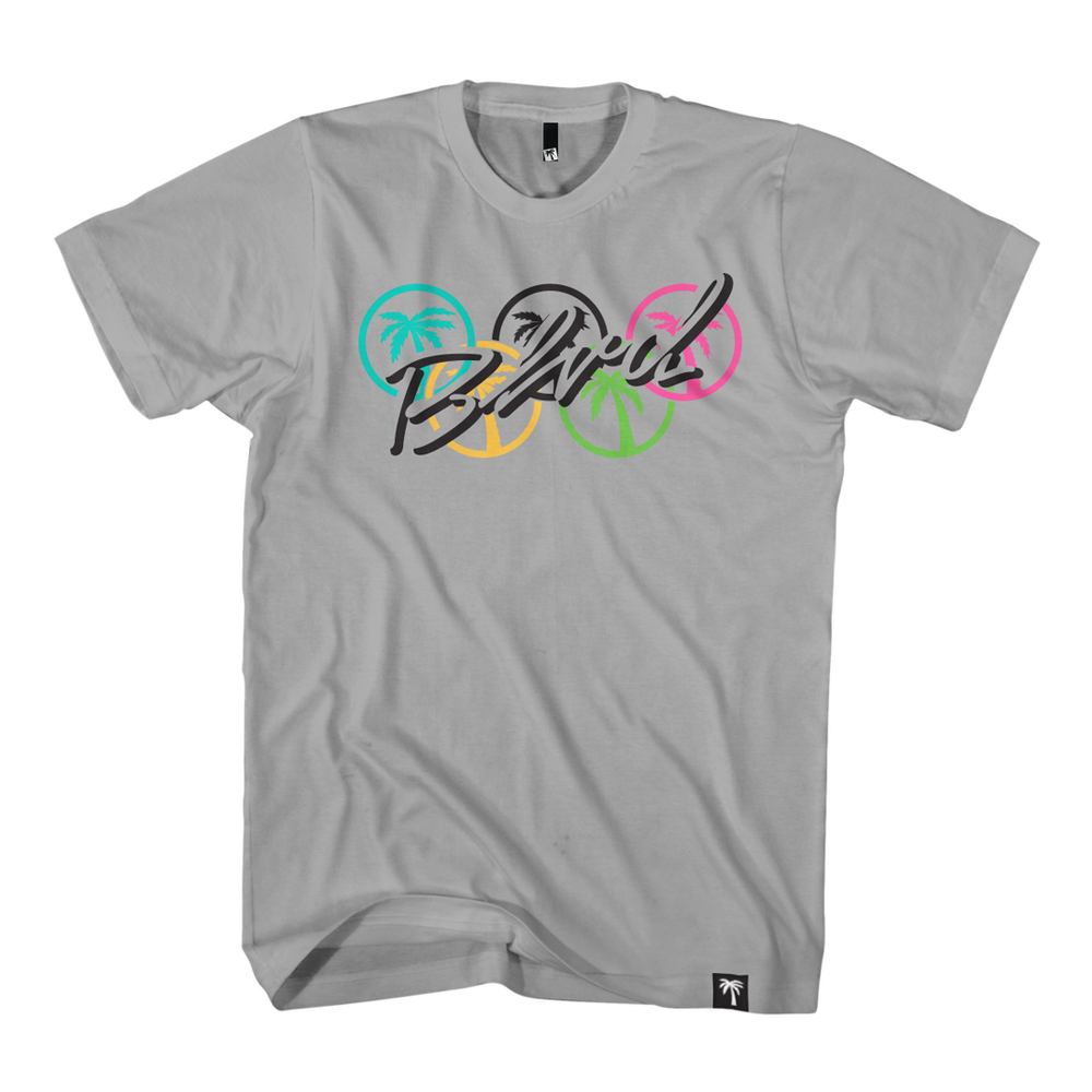 Blvd Supply Five Rings Tee - BLVD Supply inc