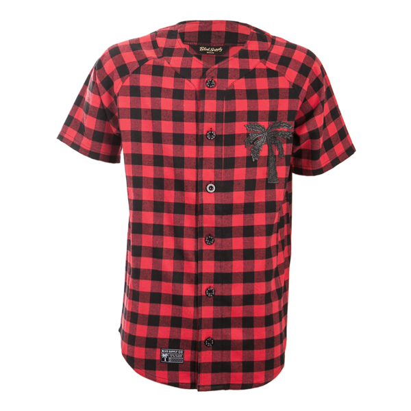 Flannel Baseball Jersey - BLVD Supply inc